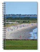 First Beach Newport Ri Spiral Notebook