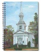 First Church Sandwich Ma Spiral Notebook