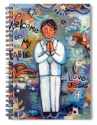 First Communion Boy Spiral Notebook