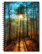 First Day In Heaven Spiral Notebook