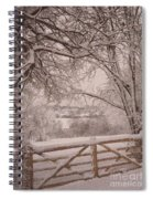 First Fall Of Snow Spiral Notebook