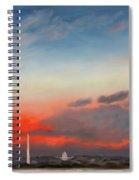 Obama Inaugural Sunrise 2 Spiral Notebook