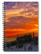 First Light At Cape Cod Beach  Spiral Notebook