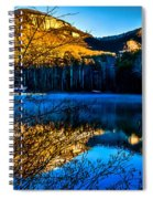 First Light At Pinnacle Lake Spiral Notebook