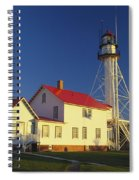 First Light At Whitefish Point Spiral Notebook