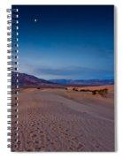 First Light Dunes Spiral Notebook
