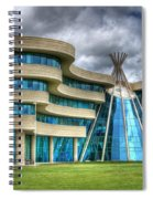First Nations University Of Canada Spiral Notebook
