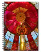 First Order Fresnel Lens Spiral Notebook