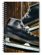 First Pair Of Ice Skates Spiral Notebook