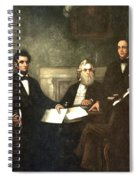 First Reading Of The Emancipation Proclamation Of President Lincoln Spiral Notebook