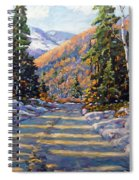 First Snow By Prankearts Spiral Notebook