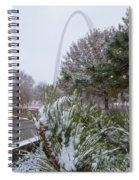 First Snow Of The Season Spiral Notebook