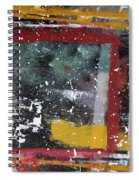 First Snowfall On The Square Spiral Notebook