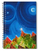 First Star Christmas Wish By Jrr Spiral Notebook