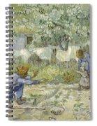 First Steps Van Gogh Spiral Notebook