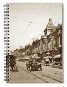 First Street Downtown San Jose California Circa 1905 Spiral Notebook