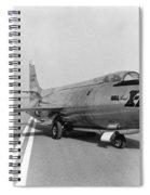 First Supersonic Aircraft, Bell X-1 Spiral Notebook