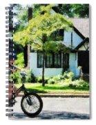 First Two Wheeler Spiral Notebook