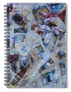 First We Take Manhattan Spiral Notebook