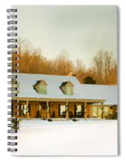 First Winter Snow Spiral Notebook