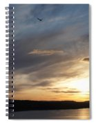 Firth Of Forth In The Sunset Spiral Notebook