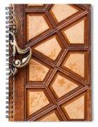 Firuz Aga Mosque Door 03 Spiral Notebook