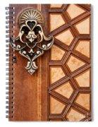 Firuz Aga Mosque Door 04 Spiral Notebook