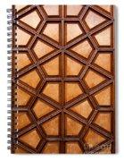 Firuz Aga Mosque Door 06 Spiral Notebook