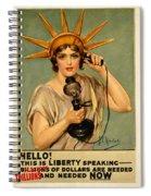 Fiscal Cliff Spiral Notebook