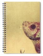 Fish Can Be Sad Too Spiral Notebook