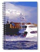 Fish Hunter Spiral Notebook