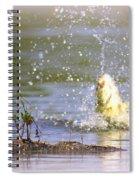 Fish-img-0717-004 Spiral Notebook