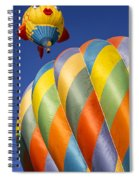 Fish In The Sky Spiral Notebook