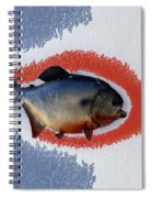 Fish Mount Set 12 B Spiral Notebook