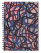 Fish Net Design Spiral Notebook