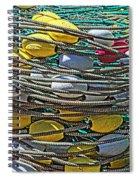 Fish Net Hdr Spiral Notebook