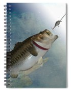 Fish On Spiral Notebook