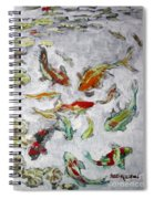 Fish Pond V2					 Spiral Notebook
