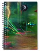 Fish-r-runnin' Spiral Notebook