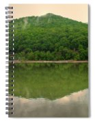 Fish Reflection Where The Kanawha Begins Spiral Notebook