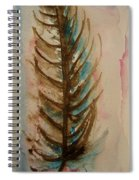 Fishbone Or Feather Spiral Notebook