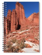 Fisher Towers Amphitheater Spiral Notebook