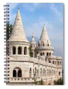 Fisherman Bastion In Budapest Spiral Notebook