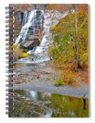 Fisherman One With Nature Spiral Notebook