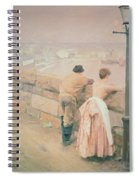 Fisherman St. Ives Spiral Notebook