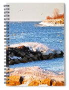 Fishermans Cove Spiral Notebook