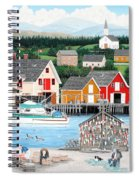 Fisherman's Cove Spiral Notebook