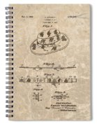 Fisherman's Hat Patent Spiral Notebook
