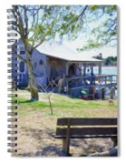 Fisherman's House  1 Spiral Notebook