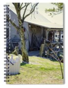 Fisherman's House 3 Spiral Notebook